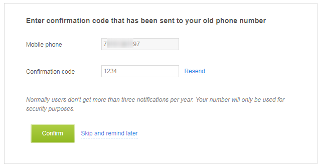 How can I change my phone number? 2