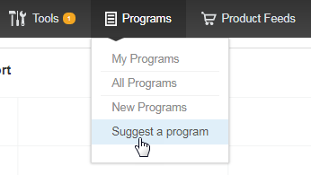 There is no program I need in the catalog. What do I do? 1