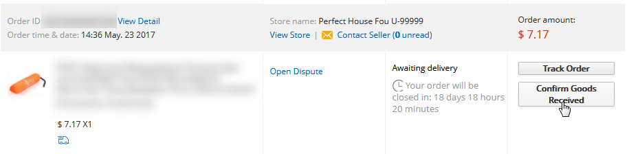 When will my order be processed?