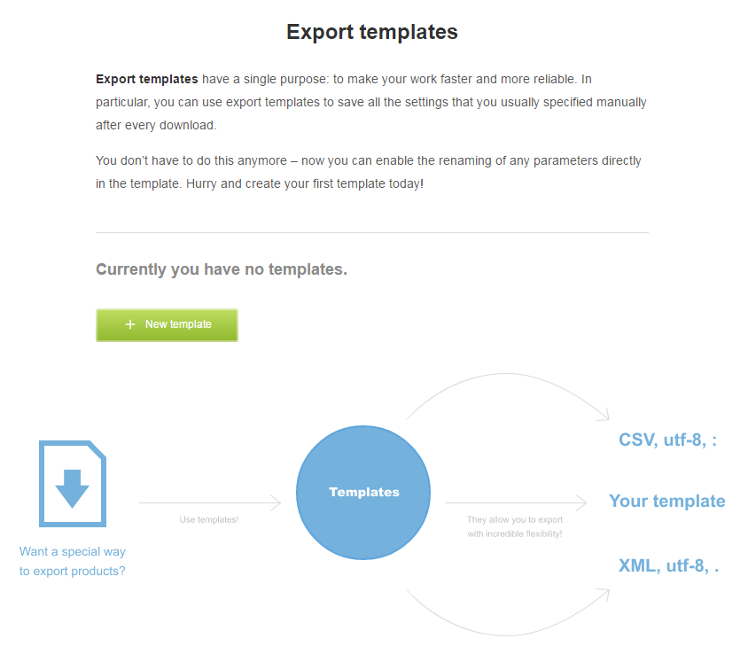 How to export product feed? 4