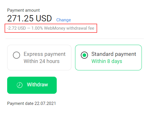 How to withdraw funds? 19
