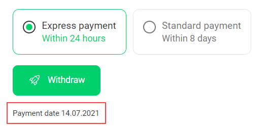 How to withdraw funds? 20