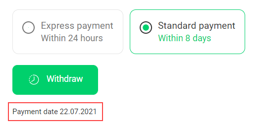 How to withdraw funds? 21